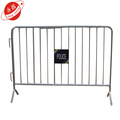 Steel safety road pedestrian barrier