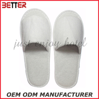 open toe disposable hospital slippers