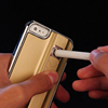 Luxury Cigarette Smoking Lighter Case Cover for iPhone 6P Plus