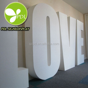 Custom Waterproof Giant Love Letters
