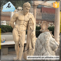 Life Size Outdoor Marble Farnese Hercules