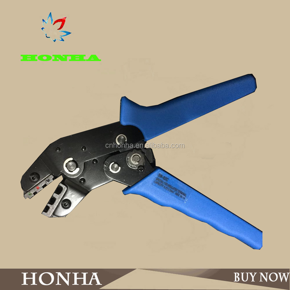 18-28 AWG 0.25 0.5 1.0mm Cables Plier Crimping tool for non-insulated terminal release tool SN-28B terminal crimp plier