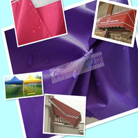 High quality pu coated waterproof oxford awning cloth