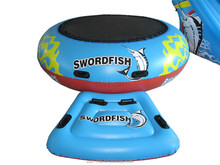 Swordfish Water Sports Big Bounce 2 Inflatable Water Tube Trampoline Slide Raft