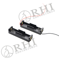 1.5V batter holder aa with lead wires , 2* AA Battery holders