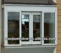 Sound insulation commercial sliding window