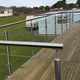 Wonderful high quality terrace railing design
