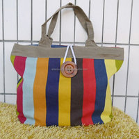 Colorful Tote Shoulder Bag with Silicone canvas Beach Bag tote bag ladies