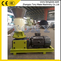 CE small alfalfa pellet press/wheat chaff pellet mill/soybean hull pellet machine