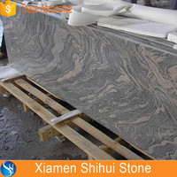 Special Water Wave Vein China Juparana Granite Top Desks Price