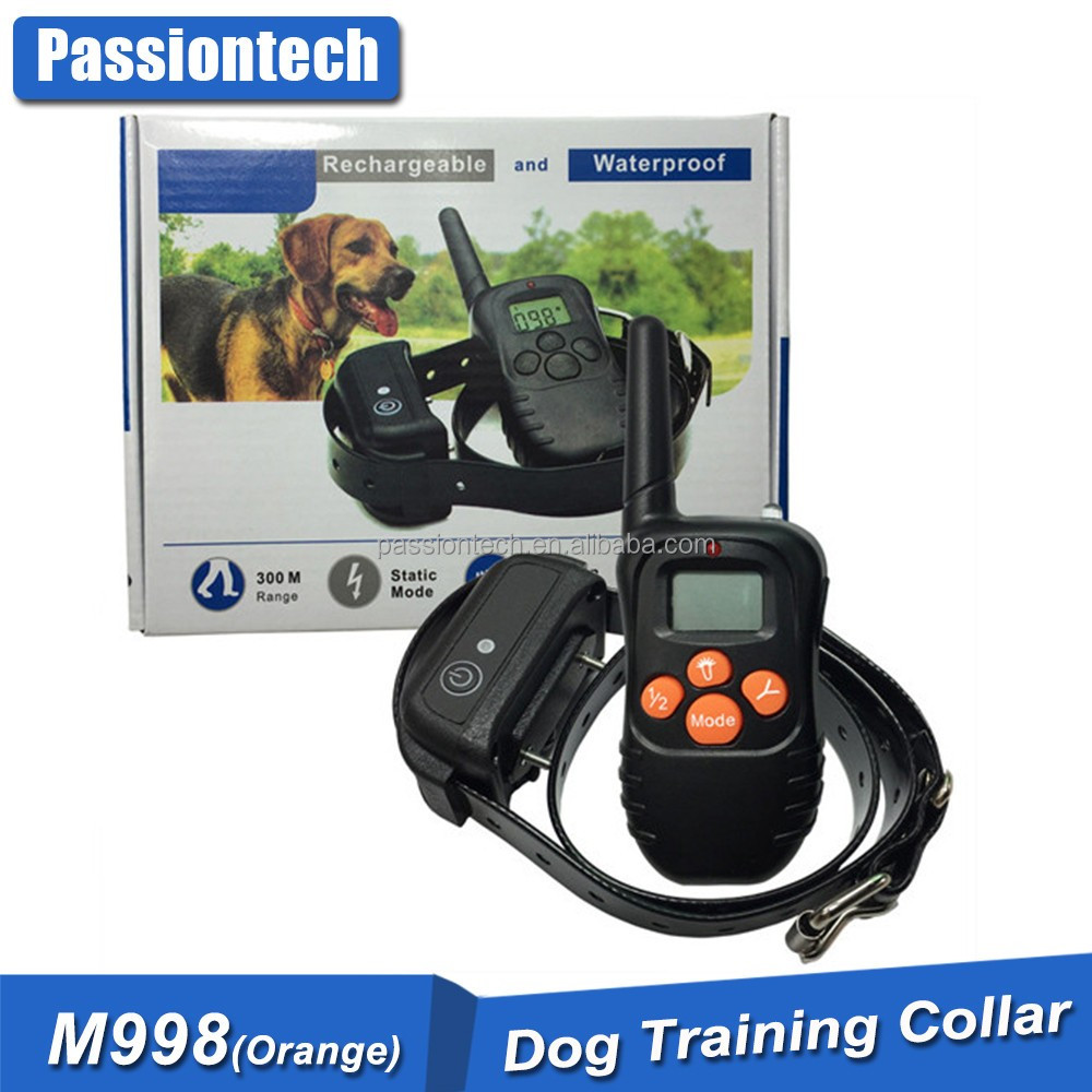 Good Quality Waterproof Rechargeable 4 in 1 Remote Training Dog Collar M 998DR Personal Electronic Dropship Trainer