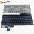 Wholesale Russian Laptop Keyboard For Asus ux301 RU Layout Keyboard Deep Blue