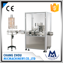 MIC-X1 automatic vacuum small perfume bottle filling and crimping machine and collar fitting machine