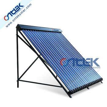Split heat pipe solar water heater collector