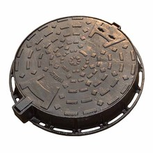 Germany EN124 D400 round cast iron vented manway oil fuel tank manhole cover