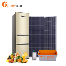 Energy saving design solar freezer kit with battery and panel