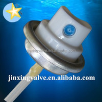 Deodorant spray valve made in china/body aerosol valve/plastic spray actuator for body can