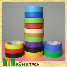 China wholesale market agents Heat Resistant Colored Masking Tape Branded Masking Tape