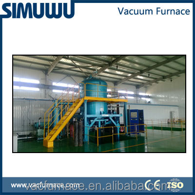 vacuum induction melting furnace, Heating a titanium blade to melt wax from inside OEM and ODM