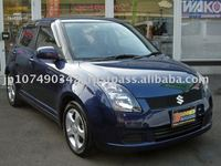 2007 japanese used SUZUKI SWIFT car, Wagon, steering: Right :Gasoline