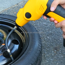 Smart 12V Air pump rechargeable Electric Tools Tire inflator Portable Cordless mini air compressor with jump starter TPMS