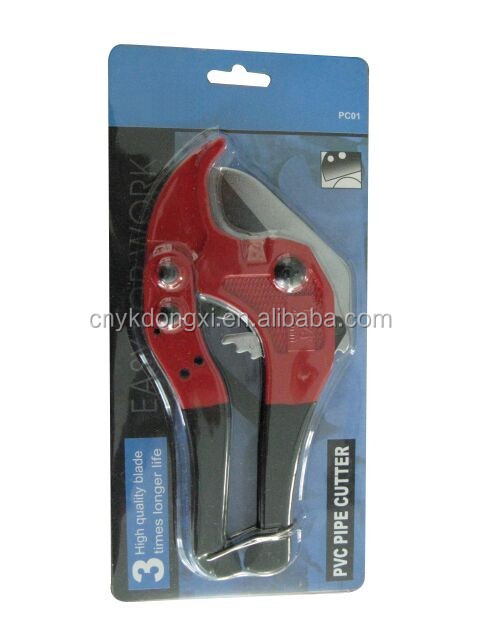 42mm PVC pipe cutter heavy duty pipe cutter with aluminium alloy handle
