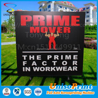 Custom printing advertising display board types of advertising boards