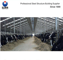 Steel Structure Prefabricated poultry house shed house Cow Shed Building