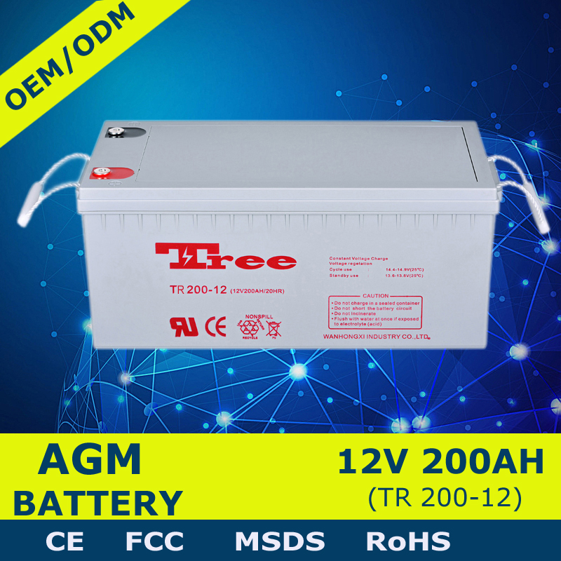 Cheap 12v batteries 12v 200 amps battery for energy storage system