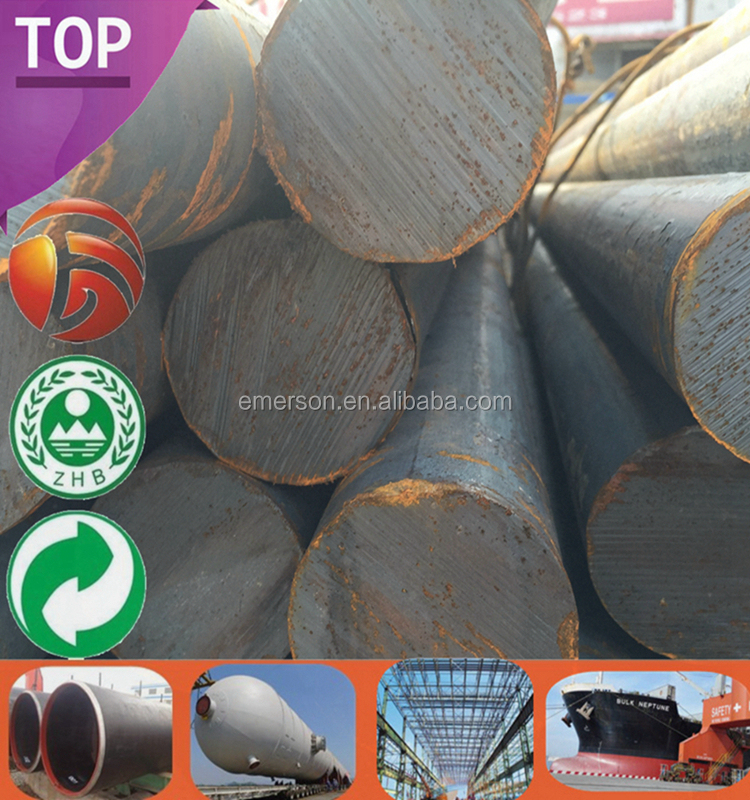 Mill Directly Supply Hot Rolled Round Bar Steel 65Mn Specification 65Mn Drilling Price Iron Forged Bar