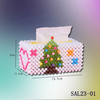 2017 Christmas Acrylic Beads Tissue Box