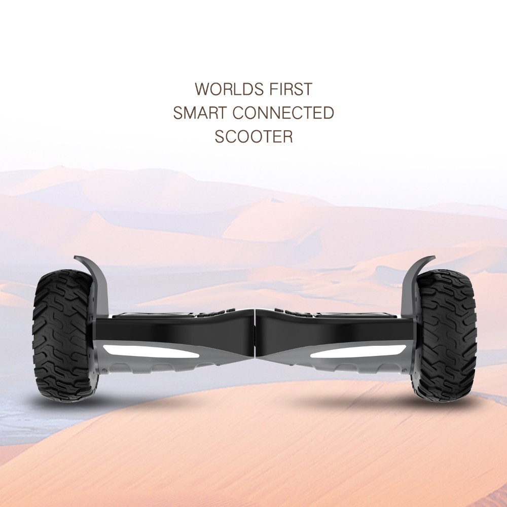 2 wheels 8.5 inch self electric balancing scooter with bluetooth speaker moblie app