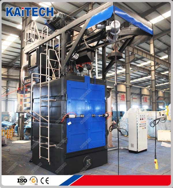 China small shot blasting machine for sale, with colour customise