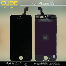 Shenzhen Cube Electronics hot lcd screen for iphone 5s original lcd screen display, for iphone 5s lcd, for iphone 5s screen