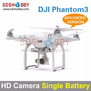 DJI Phantom3 Four-Axle Flyer HD High Definition Camera Quadcopter Advanced Version with Single Battery
