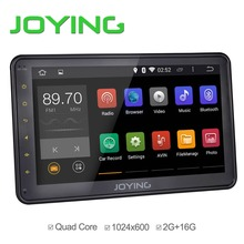android units car radio wholesale car stereo 10.1 inch black quad core 1024*600 universal android 4.4 head unit