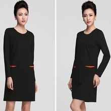 New Dresses Women Clothes Fall Fashion Sheds long sleeve Casual Party Clothes Slim Waist Ladies Dress