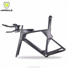 Toray carbon t700 Time Trial bikes frames triathlon carbon bicycle frame adjustable stem bicycle TT frame