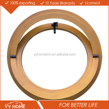 AS2047 approved/certificate modern style door glass window round