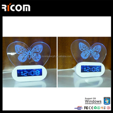 promotion gift memo board and digital clock,usb hub with memo pad--Shenzhen Ricom