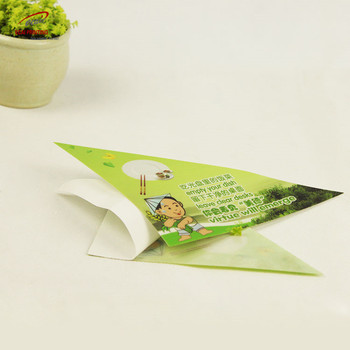 China Factory Direct Sale triangle PVC Vinyl table Sticker for trade show
