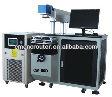 CM-50D Stainless Steel Tags Laser Engraving Machine