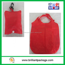 Wholesale polyester nylon foldable shopping tote bag