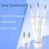 Rechargeable Electric Toothbrush Sonic Waterproof Timer