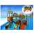 Guangzhou factory kids play set swimming pool water slide dubai water park HF-G139A