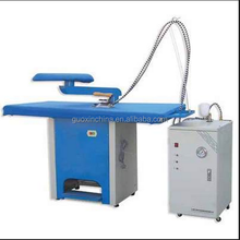 Steam ironing table ,Steam press table for commercial