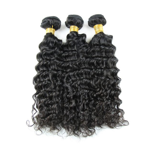 New Arrival Brazilian <strong>Human</strong> Hair Weft Kinky Curly Style 3 Pieces Hair Bundles