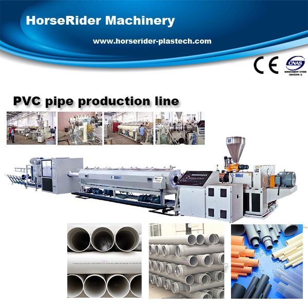 Hot sale UPVC pipe extrusion machine