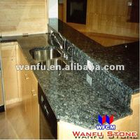 light green granite onyx table top eased polished