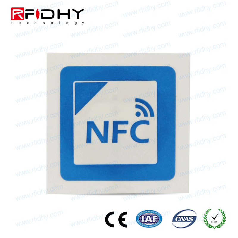 Custom NFC tag Ntag203 work with NFC android mobile phone
